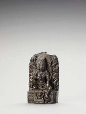 Lot 569 - A LIMESTONE STELE OF PADMAPANI
