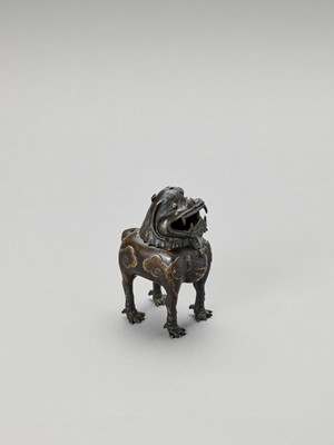 Lot 518 - A 'LUDUAN' BRONZE CENSER, 17TH CENTURY