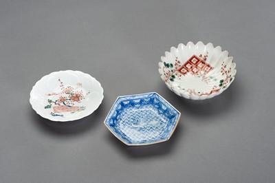 Lot 146 - A VARIED SET OF JAPANESE ARITA PLATES