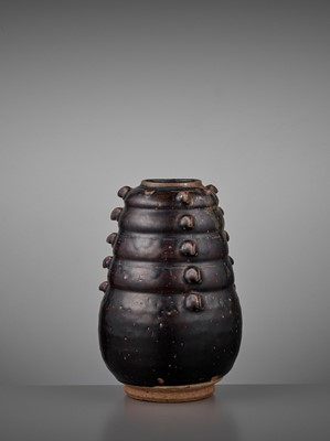 Lot 176 - A BROWN-GLAZED JAR, EARLY NORTHERN SONG DYNASTY