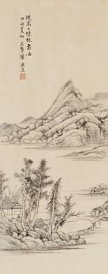 Lot 467 - 'LANDSCAPE', COPY AFTER NI ZAN (1301-1374) DATED 1937