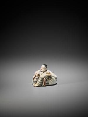 A FINE SATSUMA CERAMIC KOGO ATTRIBUTED TO CHIN JUKAN XII