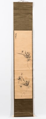A 'BAMBOO' SCROLL PAINTING
