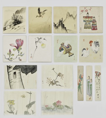 A GROUP OF FIFTEEN WOODBLOCK PRINTS