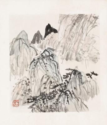 ´MOUNTAIN LANDSCAPE´ BY CHEN SHIZENG